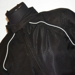 2225 Womens BILT Motorcycle Jacket Black Medium